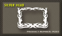 Ozdobný rámek Silver Head