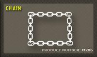 Ozdobný rámek Chain