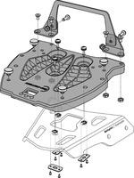Adapter plotna GPT pro kufr Hepco Becker