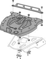 Adapter plotna GPT pro kufr TraX
