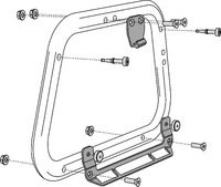 Adapter na nosič SW-EVO pro kufr SHAD