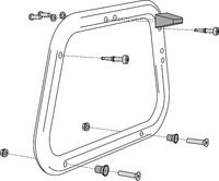 Adapter na nosič SW-EVO pro kufr Givi/Kappa