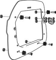 Adapter na nosič SW pro kufr TraX