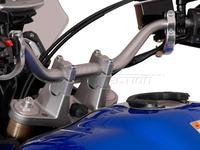 Zvýšení řídítek +25 stříbrné SW-MOTECH pro Yamaha XTZ 1200 Super Ténéré