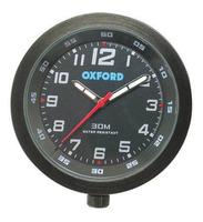 Analogové moto hodiny Oxford - černé