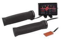 Symtec ATV Heated Grip Kit, Quad Zone, Clamp on Grip