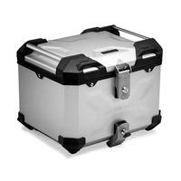Hliníkový kufr top box TRAX Adventure 38 stříbrný