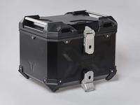 Hliníkový kufr top box TRAX Adventure 38 černý