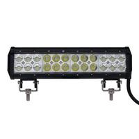 LED rampa světelná 72W, dvouřadá, 12palců