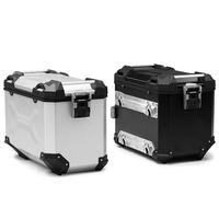 Hliníkový kufr TRAX Adventure 45 stříbrný pravý