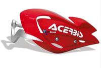 Acerbis kryt páček s výztuhou ATV, červená