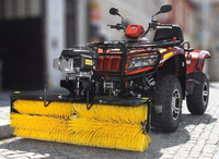 Profesional Sweeping brushes for ATV - UTV, engine HONDA