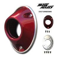 EVO MX / ATV Turndown End Cap Assembly - red