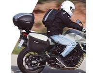 Boční kufry na motorku SH23 D0B23100 černý