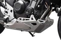 Kryt motoru IBEX Honda CB 500 X stříbrný 2013-2018