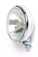 Dálkové světlo, ploché pouzdro, chrom, 115mm