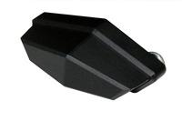 SHIN YO LED osvětlení SPZ,, QUADRO, CNC hliníkové černé pouzdro