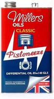 MILLERS OILS CLASSIC GEAR OIL EP 140 GL4 - PŘEVODOVÝ MINERÁLNÍ OLEJ 1 L