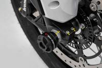 Moto Guzzi V85 TT (19-) - padací protektory na osu předního kola, SW-Motech