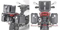 KLOR8203CAM nosič bočních kufrů MOTO GUZZI V85 TT (19-20)