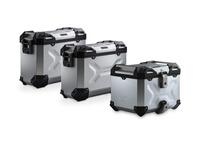 Adventure set hliníkových kufrů TRAX ADV stříbrné provedení Honda CRF 1100L Africa Twin (20-)