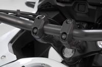 Zvýšení řídítek o 20 mm černá Honda CRF 1100 L Africa Twin