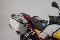 sada Adventure -kufry TraX Adv. stříbrné pro Moto Guzzi V85 TT 2019-