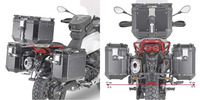 PLOR 8203CAM trubkový nosič PL ONE-FIT sundavací pro Moto Guzzi V85 TT (19) pro boční kufry OBKN Givi