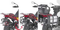 PLOR 8203MK trubkový nosič PL ONE-FIT sundavací pro Moto Guzzi V85 TT (19) pro boční kufry MONOKEY Givi