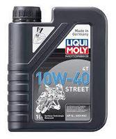 LIQUI MOLY MOTORBIKE 4T 10W-40 STREET - POLOSYNTETICKÝ MOTOROVÝ OLEJ 1L