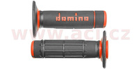 gripy A020 (offroad) délka 118 mm, DOMINO (šedo-oranžové)
