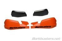 Plasty VPS pro Barkbusters chrániče - oranžové s černým rozšířením