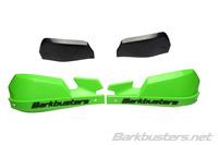 Plasty VPS pro Barkbusters chrániče - zelené s černým rozšířením