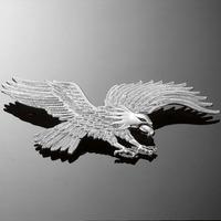 Highway Hawk Emblém samolepící 230x120mm (orel), chrom