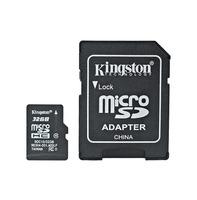 Kingston™ Micro SDHC 32GB Cl.10 + SD adaptér