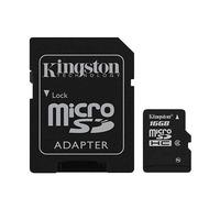 Kingston™ Micro SDHC 16GB Cl.10 + SD adaptér