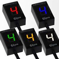 GIpro X sada s GPX U01 ukazatel zařazené rychlosti