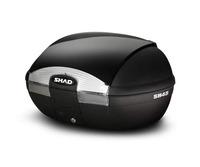 Vrchní kufr s barevným krytem SH45 lesklá černá