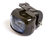 Přídavné světlo na moto mlhové black/blue 1ks