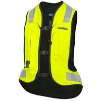 Moto vesta s airbagem Helite TURTLE 2 žlutá