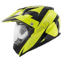 KV30 ENDURO FLASH žlutá/černá - enduro helma KAPPA