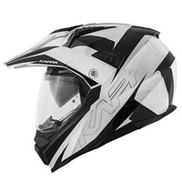 KV30 ENDURO FLASH bílá/černá - enduro helma KAPPA