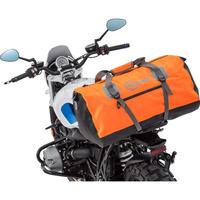 Nepromokavá taška na sedlo spolujezdce/válec Qbag 80 litrů, oranžová