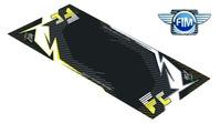Koberec pod moto 100x160cm Hurly HUSQVARNA FC černo/žlutý