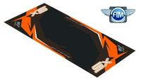 Koberec pod moto 100x160cm Hurly KTM SX černo/oranžový