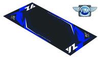 Koberec pod moto 100x160cm Hurly YAMAHA YZ černo/modrý