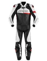 Dvoudílná kombinéza RACE WARRIOR TOURING, SPIDI (černá/bílá/červená)