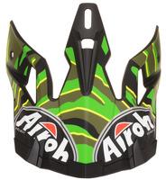 Náhradní kšilt pro přilby AVIATOR 2.2 Threat, AIROH (žlutá/zelená/černá)