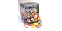 PU špunty do uší, OXFORD (SNR - průměrná hodnota snížení hluku 35 dB, obchodní balení, box 100x2 páry)