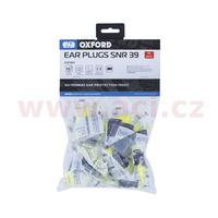 PU špunty do uší Earsoft FX, OXFORD (SNR - průměrná hodnota snížení hluku 39 dB, obchodní balení 25 párů)